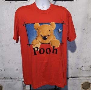 Vintage single stitch Winnie the Pooh T size large
